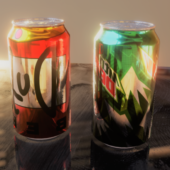 Realistic Soda Can Drink