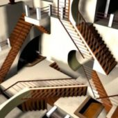Impossible Stairs Design
