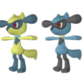 Riolu Pokemon Character