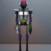 Robot De Guerra