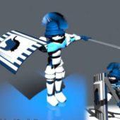Robot Swordsman