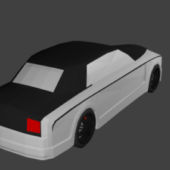 Rolls Royce Low Poly Car