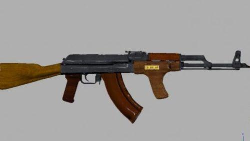 Romanian Akm Gun