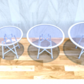 Round Glass Table Furniture
