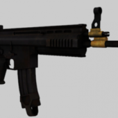 Scar-l Gun