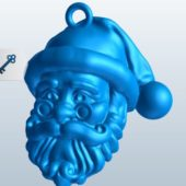 Santa Claus Head Sculpt