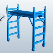 Wooden Scaffolding Unit