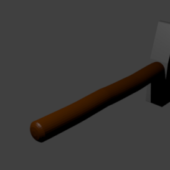 Simple Hammer Weapon
