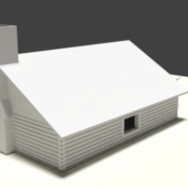 Simple House Lowpoly