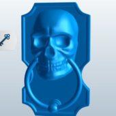 Skull Shape Door Knocker