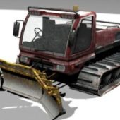 Snow Groomer Truck
