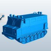 Snowcat Vehicle