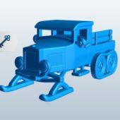 Snowmobile Vehicle