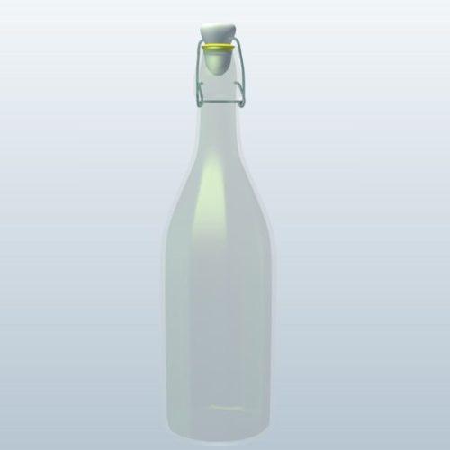 Soda Glass Bottle