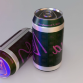 Realistic Soda Can