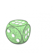 Plastic Spherical Dice