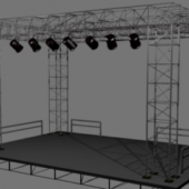 Music Live Show Stage Building