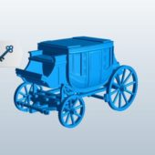 Old Stagecoach Vehiccle