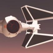 Star Wars E-tie Spaceship