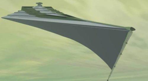 Star Wars Eclipse Space Ship