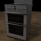 Kitchen Steel Gas Oven