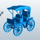 Vintage Surrey Carriage