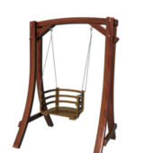 Garden Wooden Swing Chair