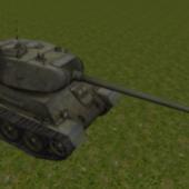 Soviet T43 Tank
