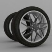 Tyre And Alloy Rims