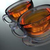 Tea Cup Glass