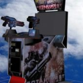Terminator Salvation Upright Arcade Machine