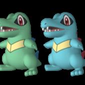Totodile Pokemon Character