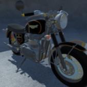 Triumph Bonneville Motorbicycle