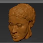 Tuce Head Statue