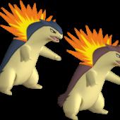 Typhlosion Pokemon Character