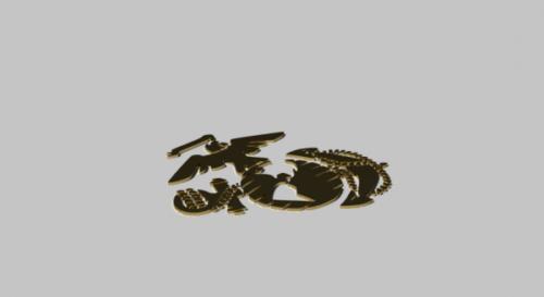 Usmc Emblem Medal