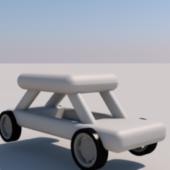 Lowest Poly Car