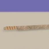 Uruk Hai Sword Lowpoly