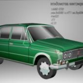 Vaz Zhiguli Car