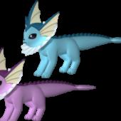 Vaporeon Pokemon Character