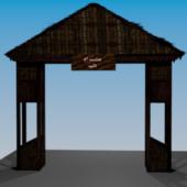 Building Village Gate