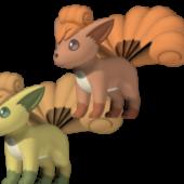 Vulpix Pokemon Character