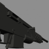 Wastelande Rifle Gun