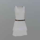 Party White Dress