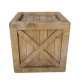 Warehouse Wooden Crate