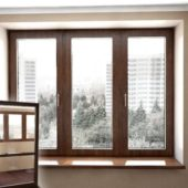 Wooden Glass Windows