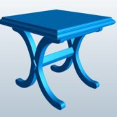 X Shaped Table