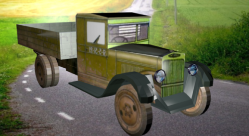 Zis-5 Triohtonka Truck