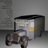 Classic Zis Vehicle