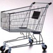 Supermarket Metal Caddy